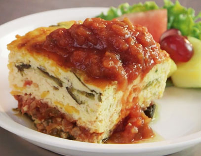 Chili Relleno Breakfast Casserole