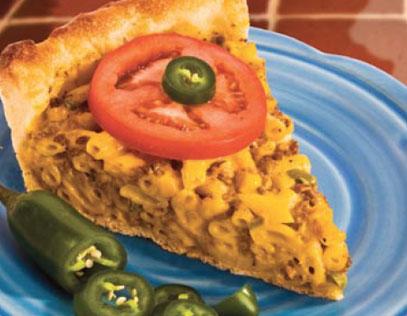 Deep Dish Macaroni & Cheese