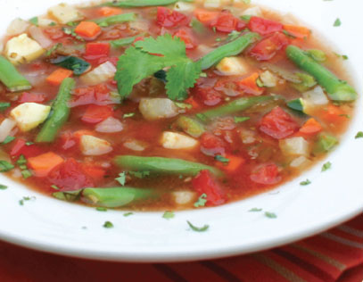 Fiesta Vegetable Soup