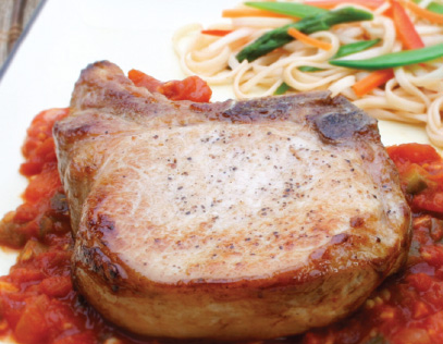 Thai Pork Chops