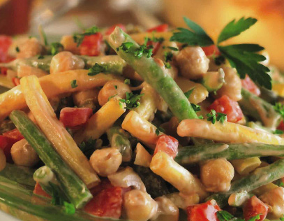Zesty Three-Bean Salad