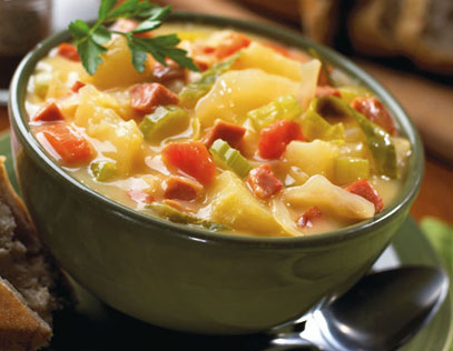 Farmhouse Cheddar Cheese Soup