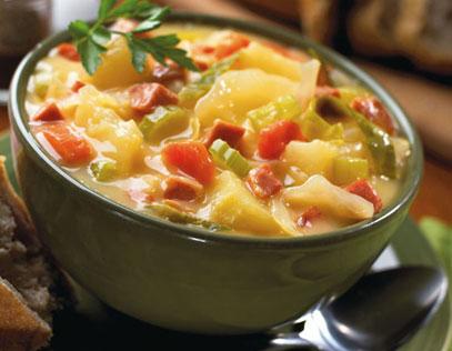 Farmhouse Cheddar Cheese Soup